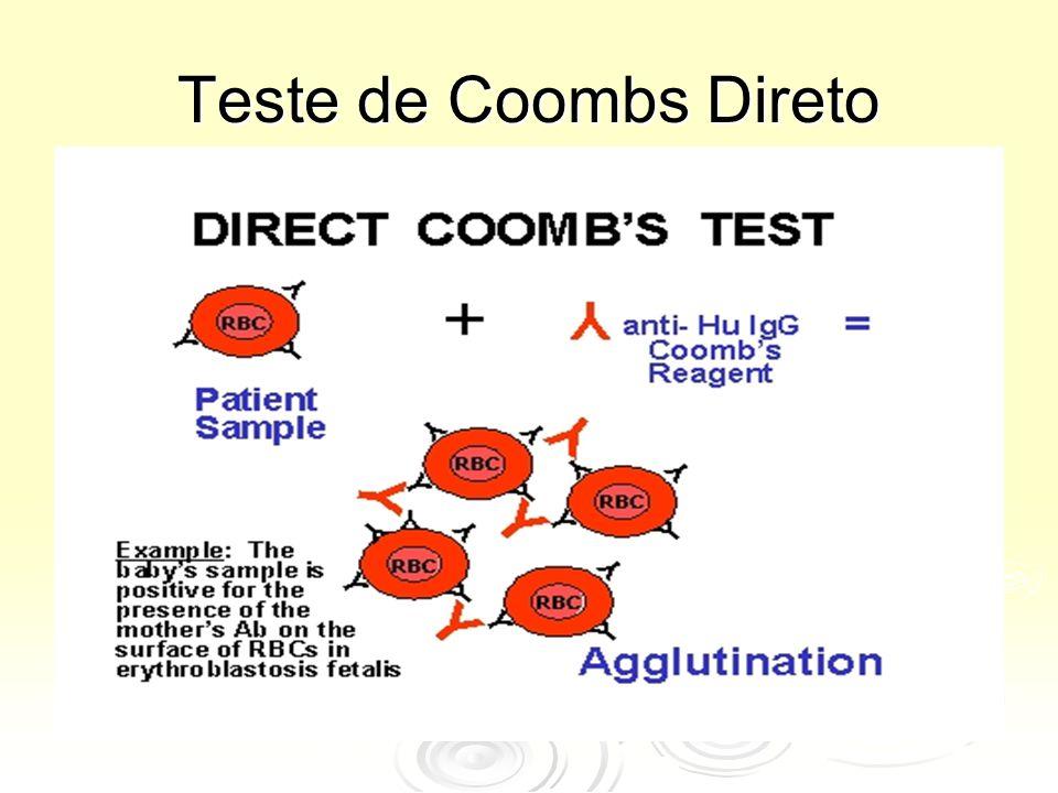 Teste de Coombs Direto.