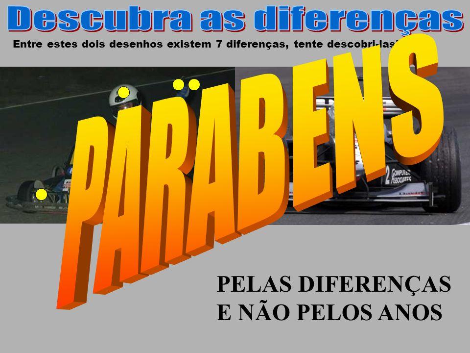 Entre estes dois desenhos existem 7 diferenças, tente descobri-las!!.