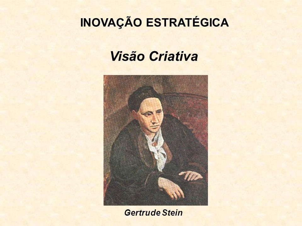 INOVAÇÃO ESTRATÉGICA Visão Criativa Gertrude Stein