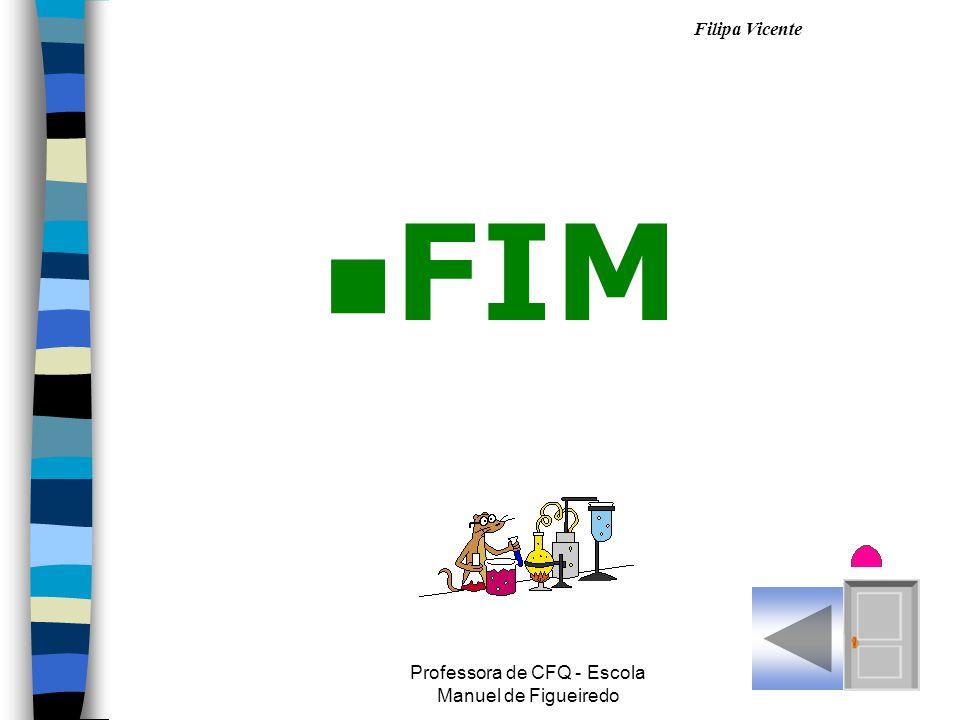 Filipa Vicente Professora de CFQ - Escola Manuel de Figueiredo nFnFIM