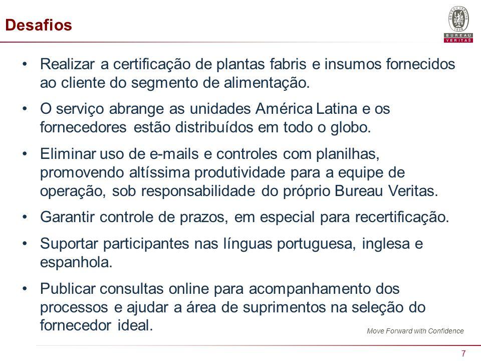 7 Desafios Realizar a certificação de plantas fabris e insumos fornecidos ao cliente do segmento de alimentação.