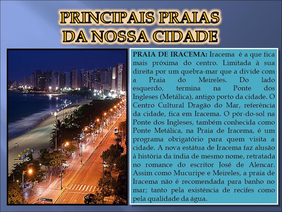 Lagoa do Opaia Localizada entre os bairros Aeroporto e Vila União, é uma das mais importantes de Fortaleza.