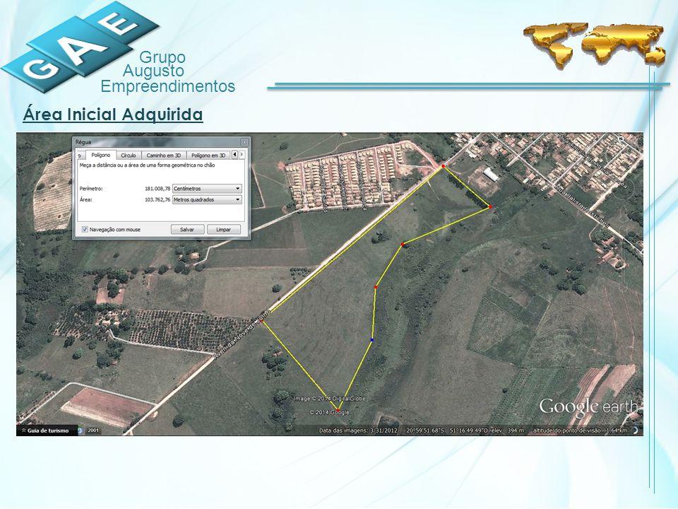 Grupo Augusto Empreendimentos Área Inicial Adquirida