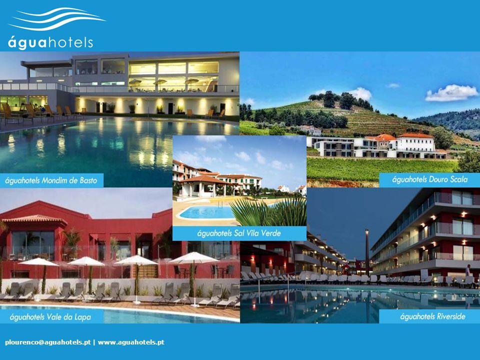 plourenco@aguahotels.pt | www.aguahotels.pt