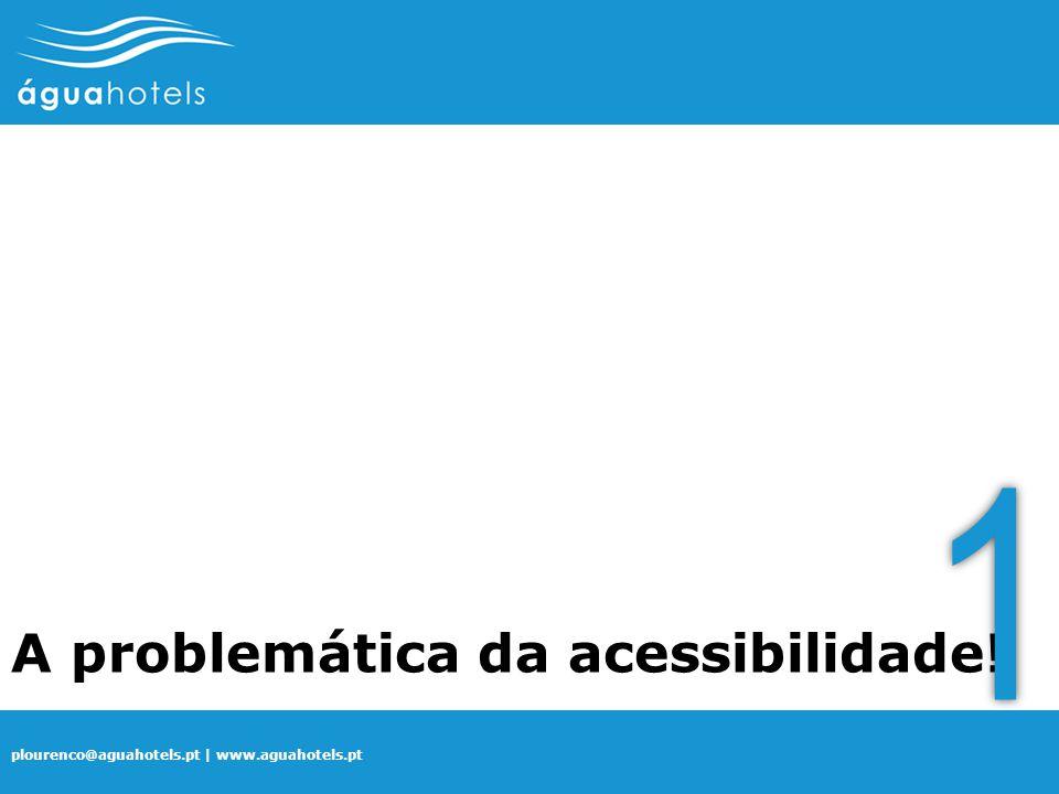 A problemática da acessibilidade! 1