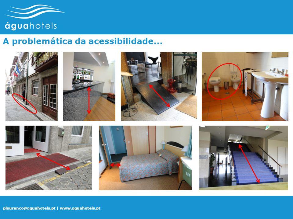 plourenco@aguahotels.pt | www.aguahotels.pt A problemática da acessibilidade...