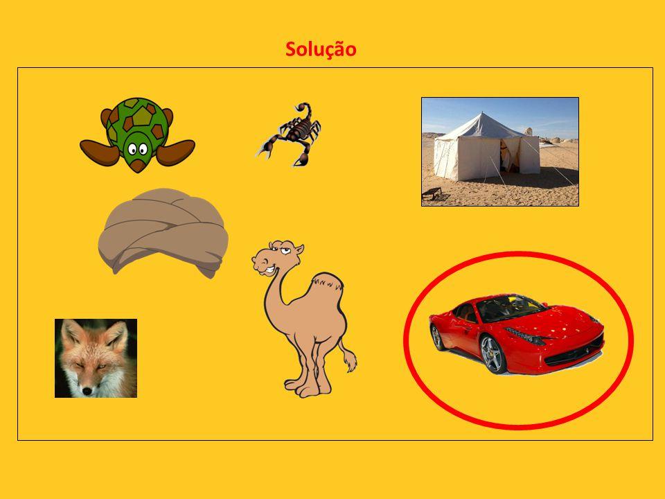 15ª -Descobre o intruso nas seguintes imagens?