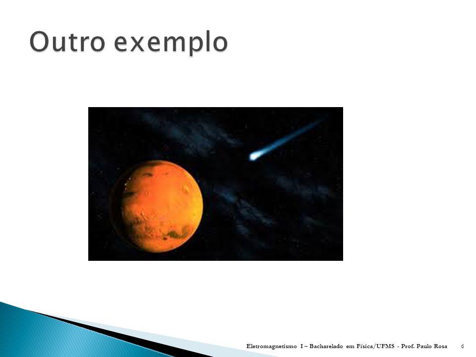 Eletromagnetismo I – Bacharelado em Física/UFMS - Prof. Paulo Rosa117
