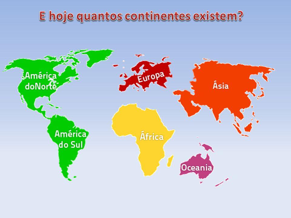 A teoria de que todos os continentes poderão ter estado ligados tem quase 200 anos e baseia-se na configuração das margens continentais do Oceano Atlâ