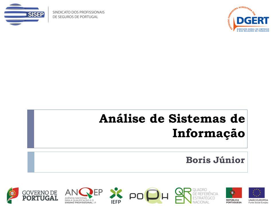 Análise de Sistemas de Informação Boris Júnior