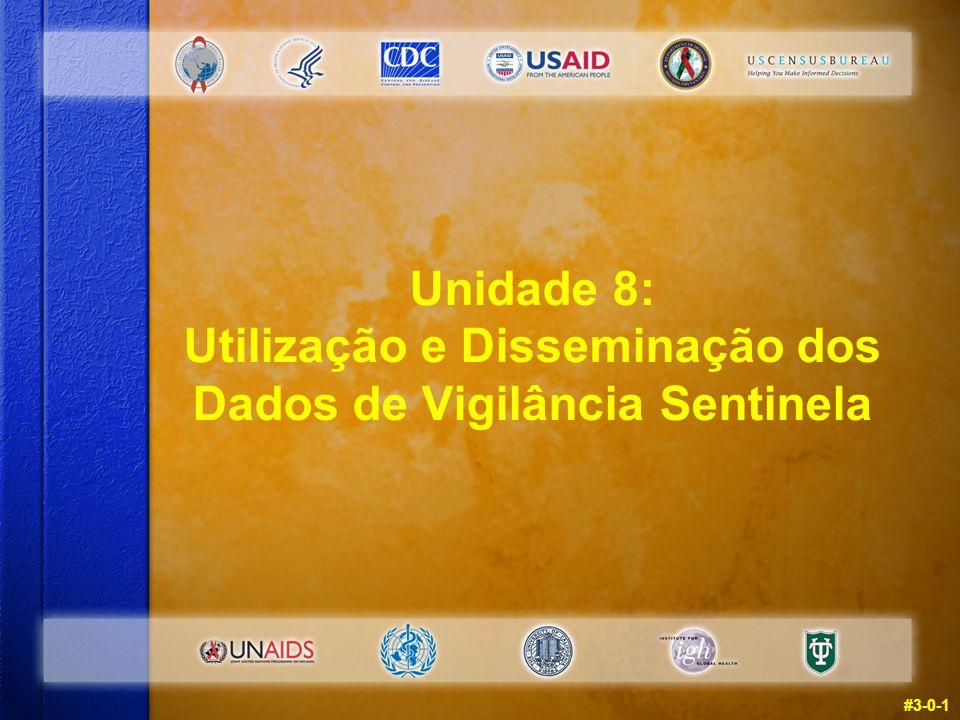 #3-0-1 Unidade 8: Utilização e Disseminação dos Dados de Vigilância Sentinela