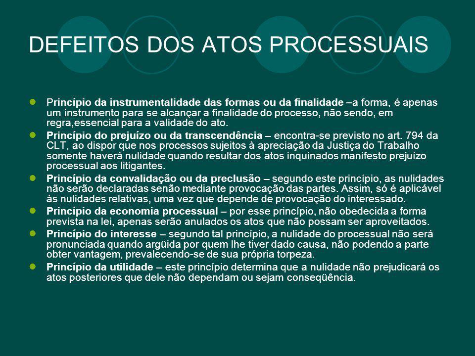 Da comunicação dos atos processuais trabalhistas Os atos processuais são revestidos de publicidade e devem ser conhecidos pelas partes, o que se dá através da comunicação.