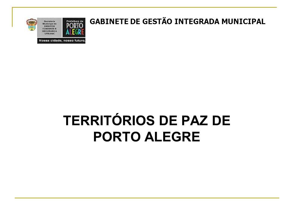 TERRITÓRIOS DE PAZ DE PORTO ALEGRE GABINETE DE GESTÃO INTEGRADA MUNICIPAL