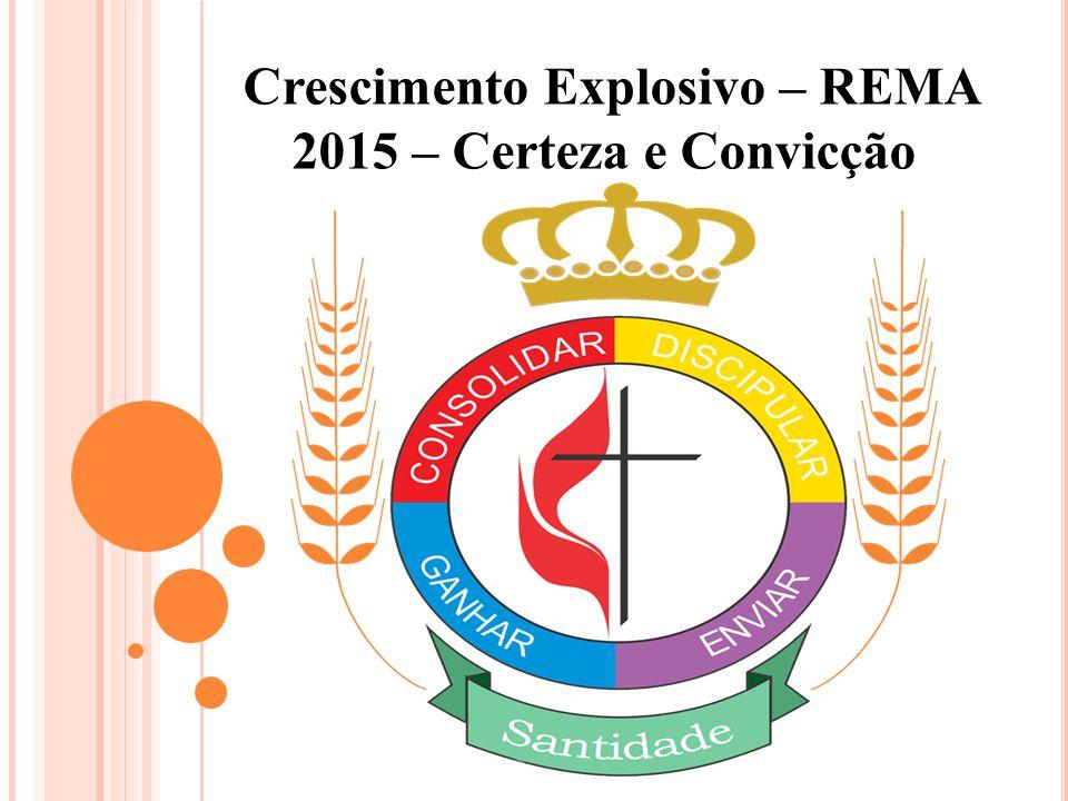 Crescimento Explosivo – REMA 2015 – Certeza e Convicção