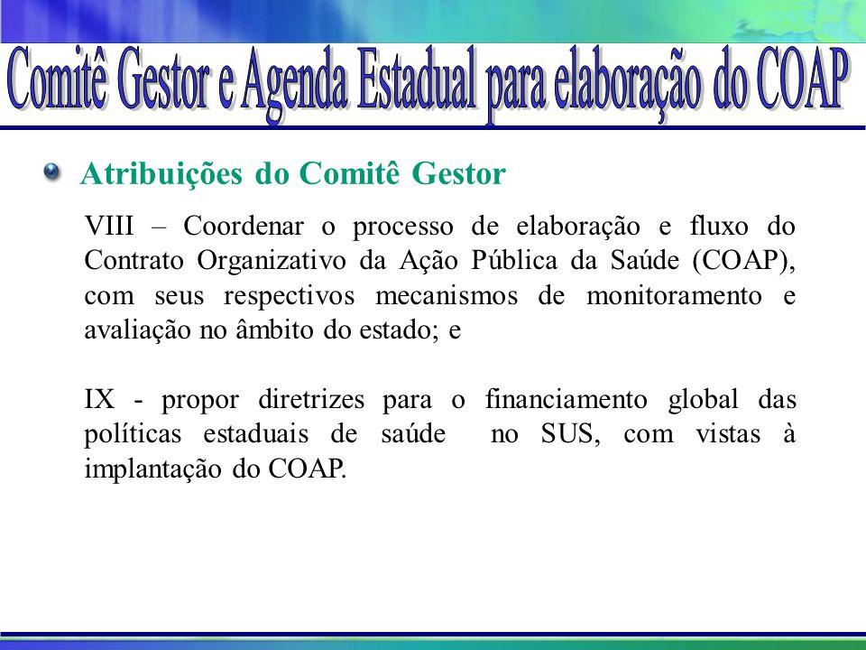 Projeto Amigo do Lago da Serra da Mesa Atribuições do Comitê Gestor VIII – Coordenar o processo de elaboração e fluxo do Contrato Organizativo da Ação