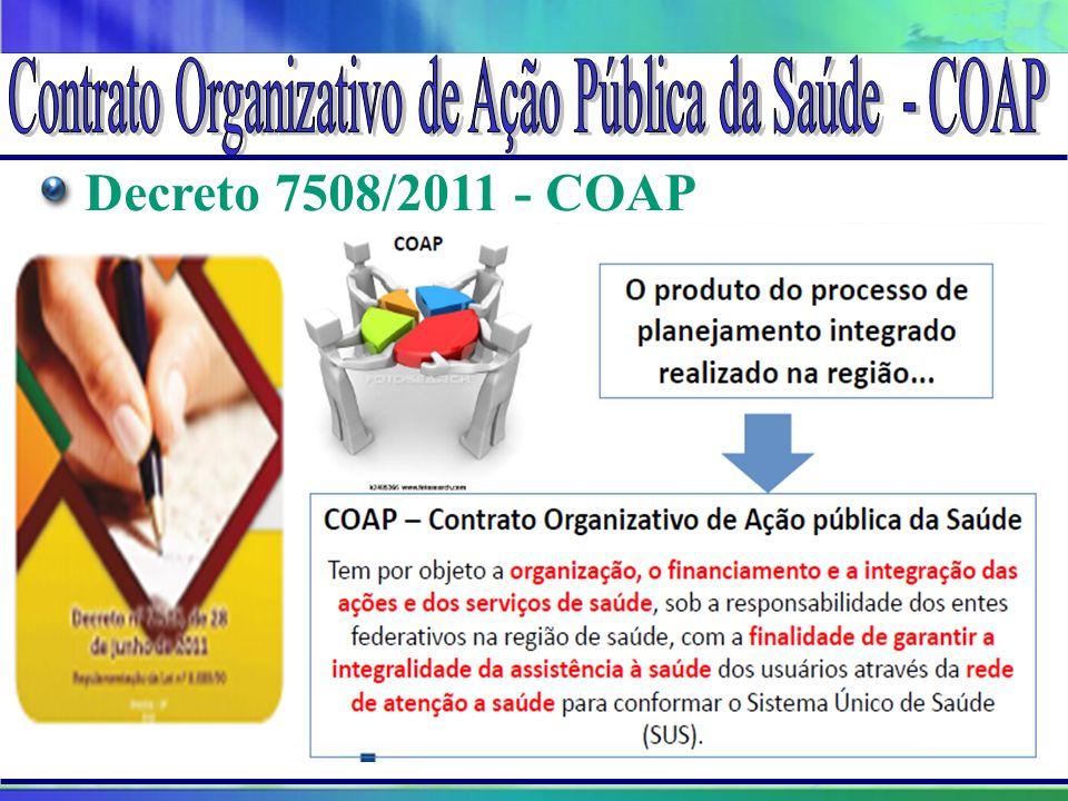 Projeto Amigo do Lago da Serra da Mesa Decreto 7508/2011 - COAP