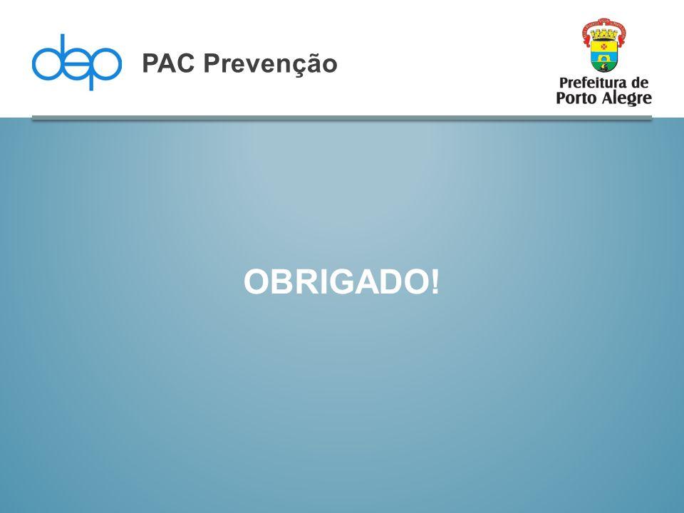 PAC Prevenção OBRIGADO!