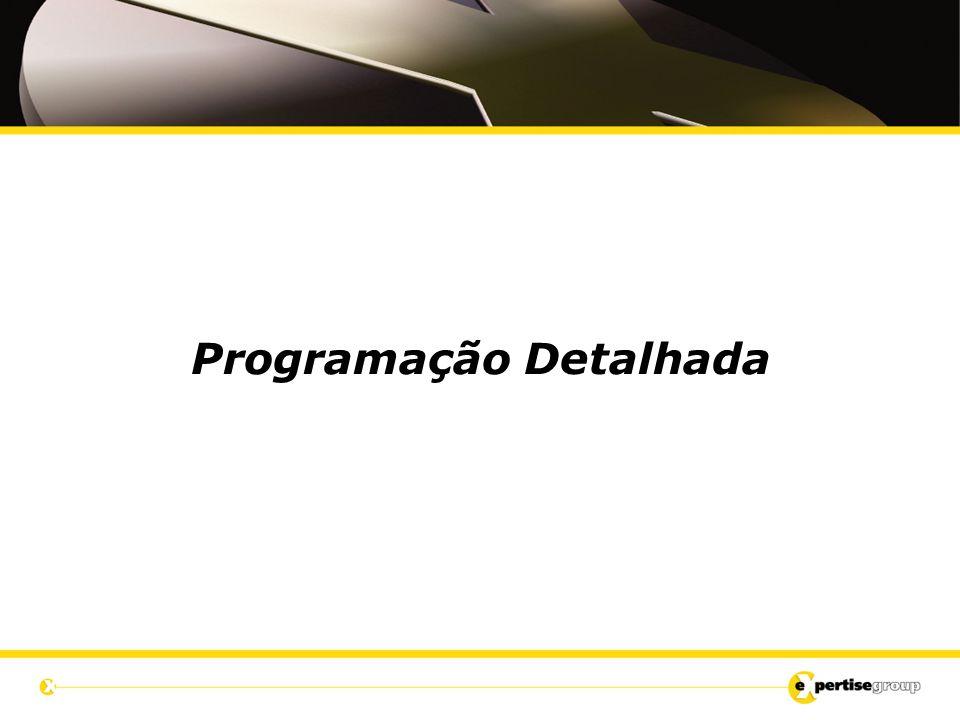 Programação Detalhada