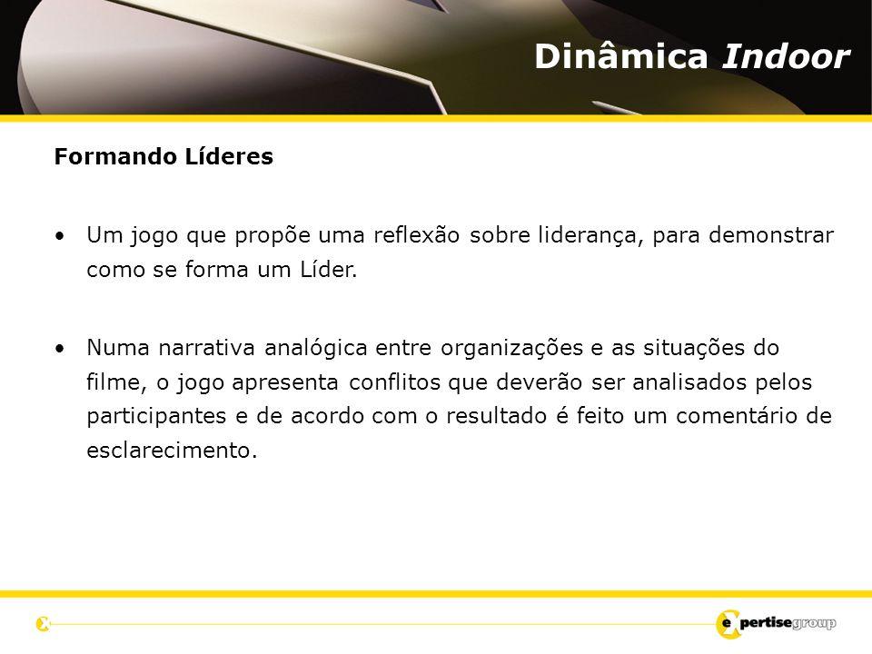 Formando Líderes Um jogo que propõe uma reflexão sobre liderança, para demonstrar como se forma um Líder.