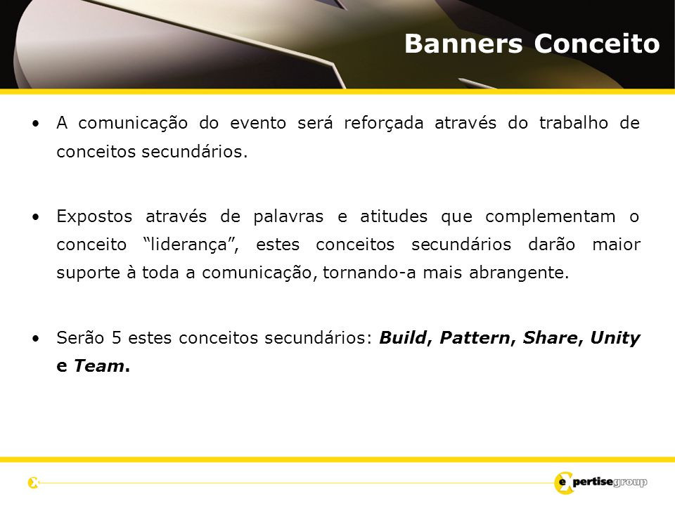 Banners Conceito