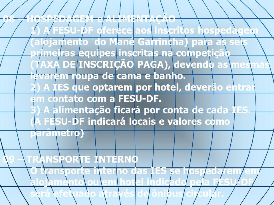 INSCRIÇÃO A solicitação de VAGA para a I.E.S.