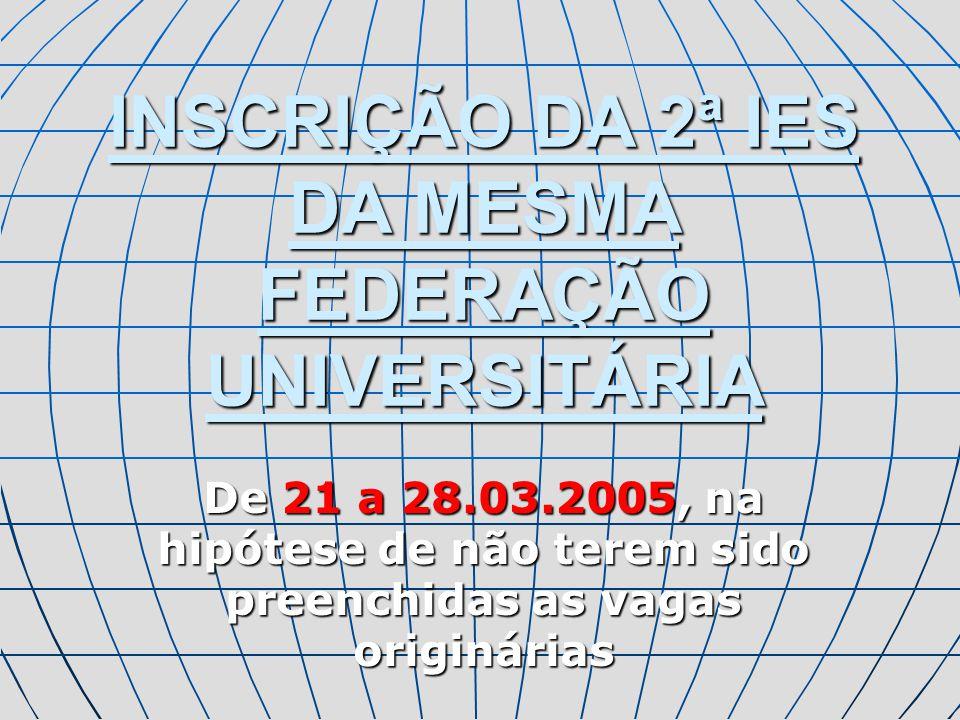 DOCUMENTAÇÃO PARA INSCRIÇÃO I.E.S.