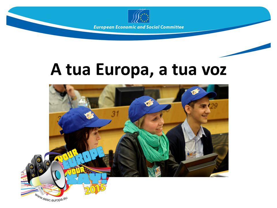 A tua Europa, a tua voz