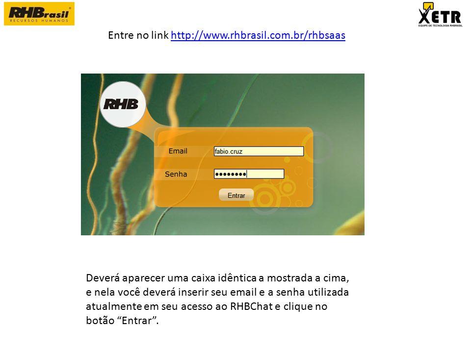 Esta é a nova identidade, em seu menu superior estarão listados apenas os sistema que o usuário possui acesso.
