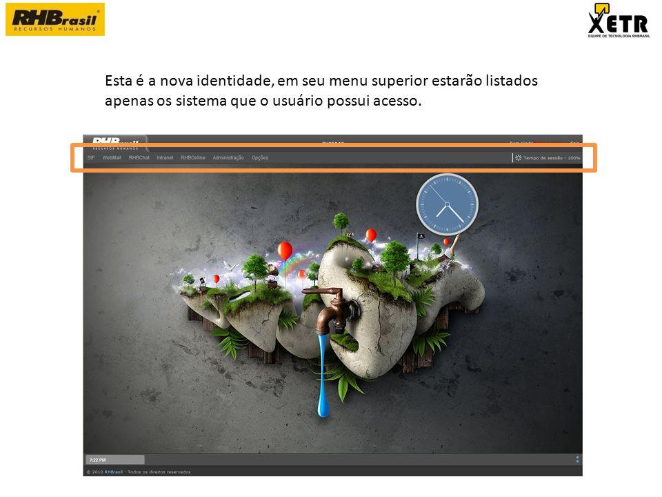 A intranet RHBrasil também foi remodelada por completo, o objetivo da criação desta nova intranet alem de dar uma nova Imagem foi facilitar o acesso a TODO o conteúdo disponível em seu interior.