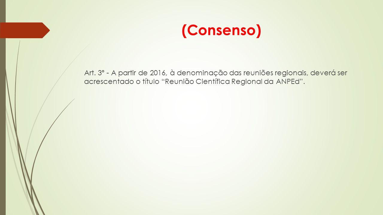 (Consenso) Art.