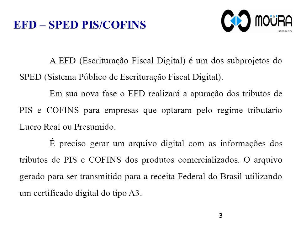 O novo modelo de escrituração do PIS/ Pasep e da COFINS contribui para a modernização do acompanhamento fiscal e uniformização do processo de recolhimento destes impostos.