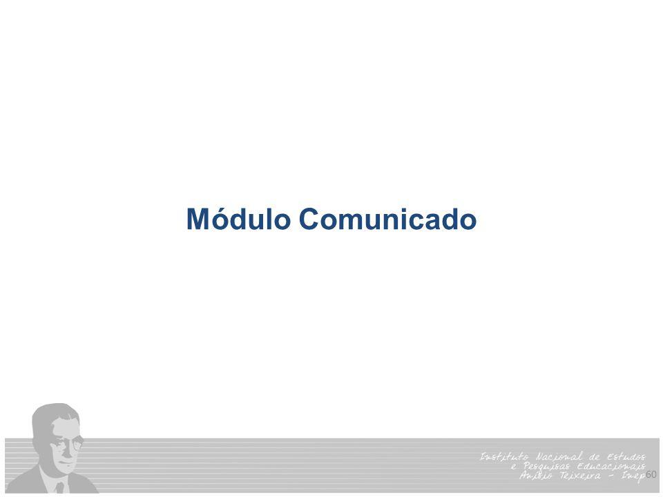 60 Módulo Comunicado