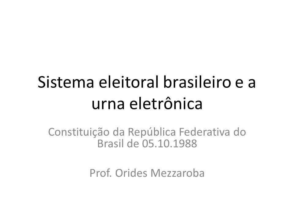 Estado democrático de Direito fundamentado nos princípios do -...