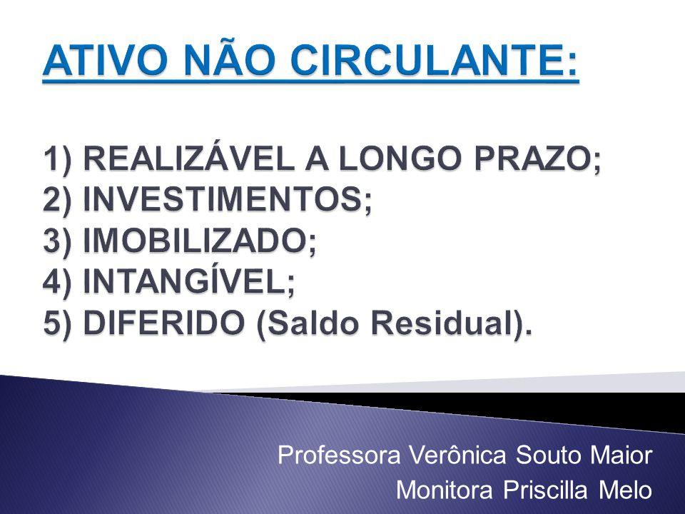 Professora Verônica Souto Maior Monitora Priscilla Melo