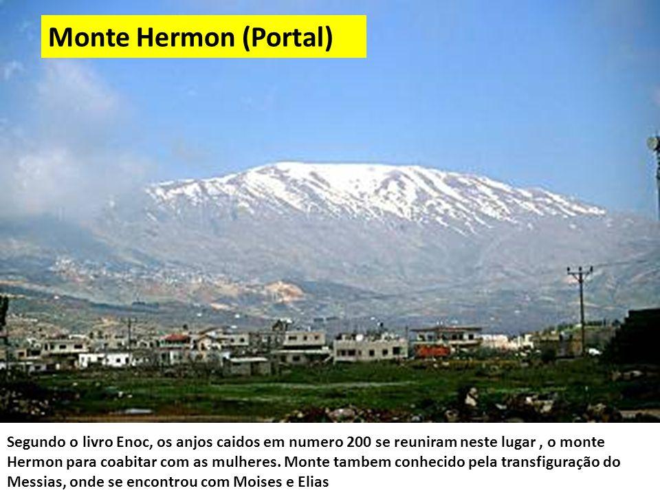 Segundo o livro Enoc, os anjos caidos em numero 200 se reuniram neste lugar, o monte Hermon para coabitar com as mulheres.