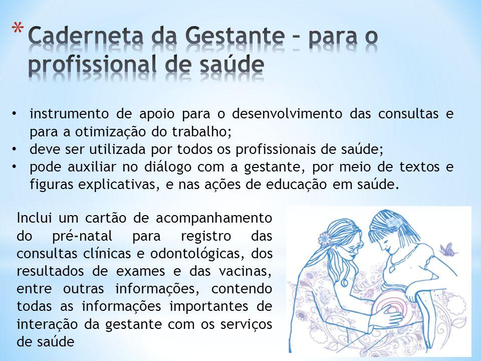 instrumento de apoio para o desenvolvimento das consultas e para a otimização do trabalho; deve ser utilizada por todos os profissionais de saúde; pod