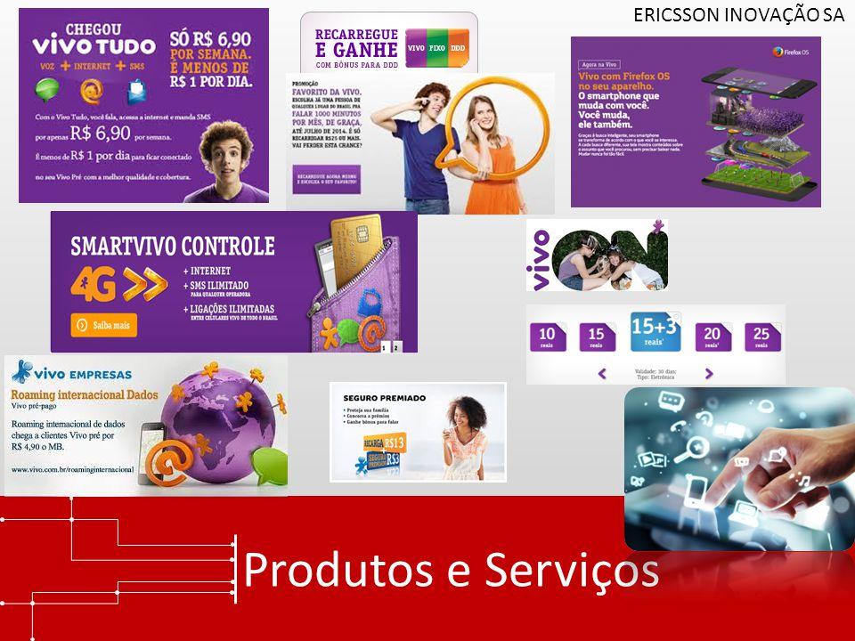 Produtos e Serviços ERICSSON INOVAÇÃO SA