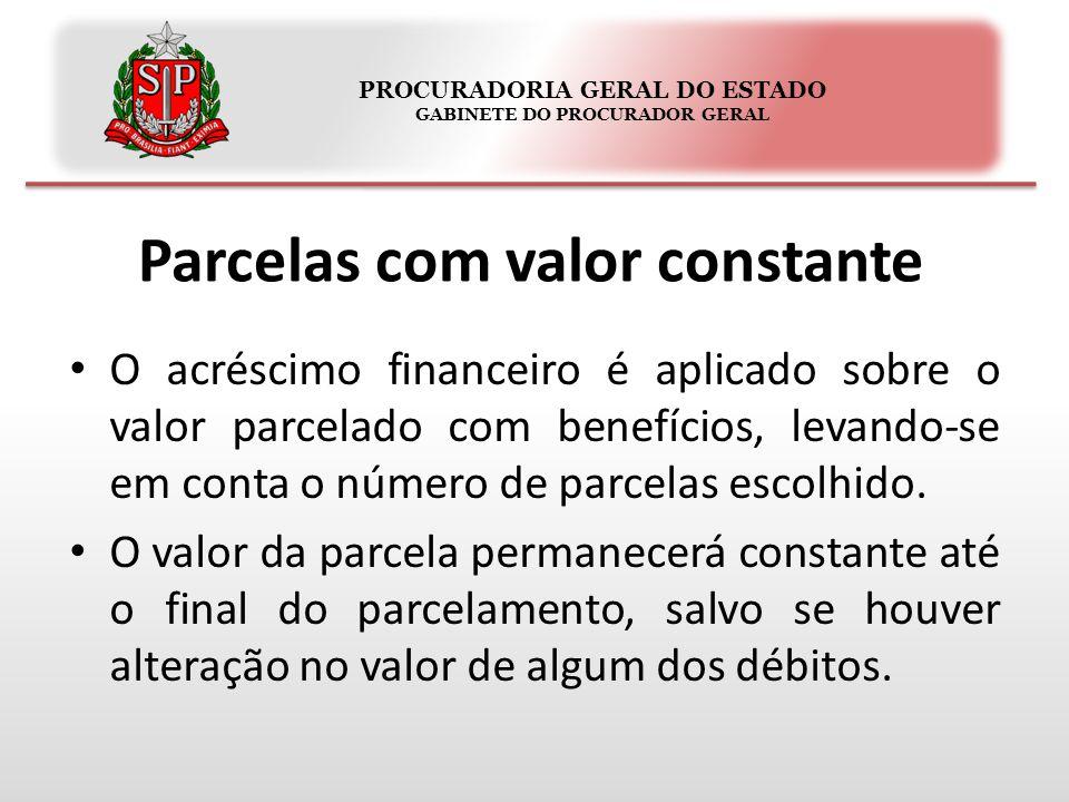 PROCURADORIA GERAL DO ESTADO GABINETE DO PROCURADOR GERAL Quais depósitos poderão ser utilizados.