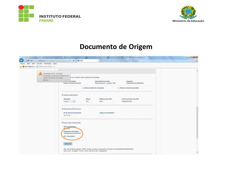 Documento de Origem