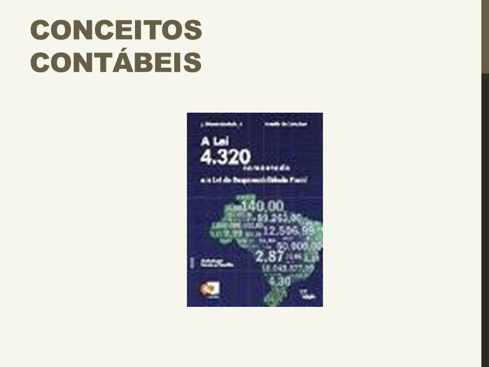 CONCEITOS CONTÁBEIS