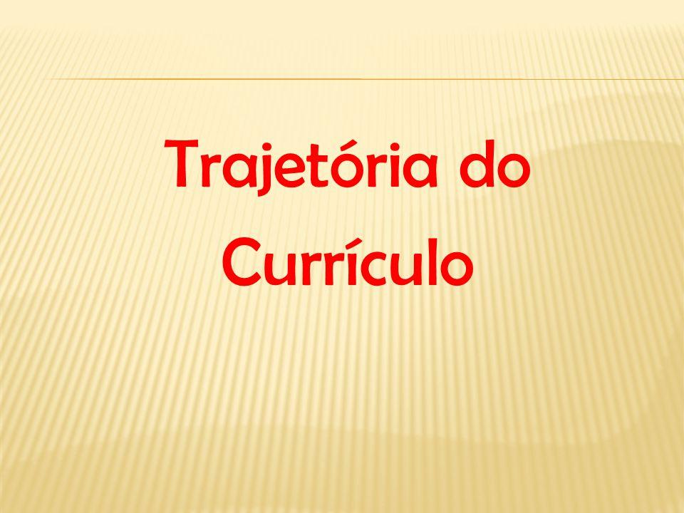 Trajetória do Currículo