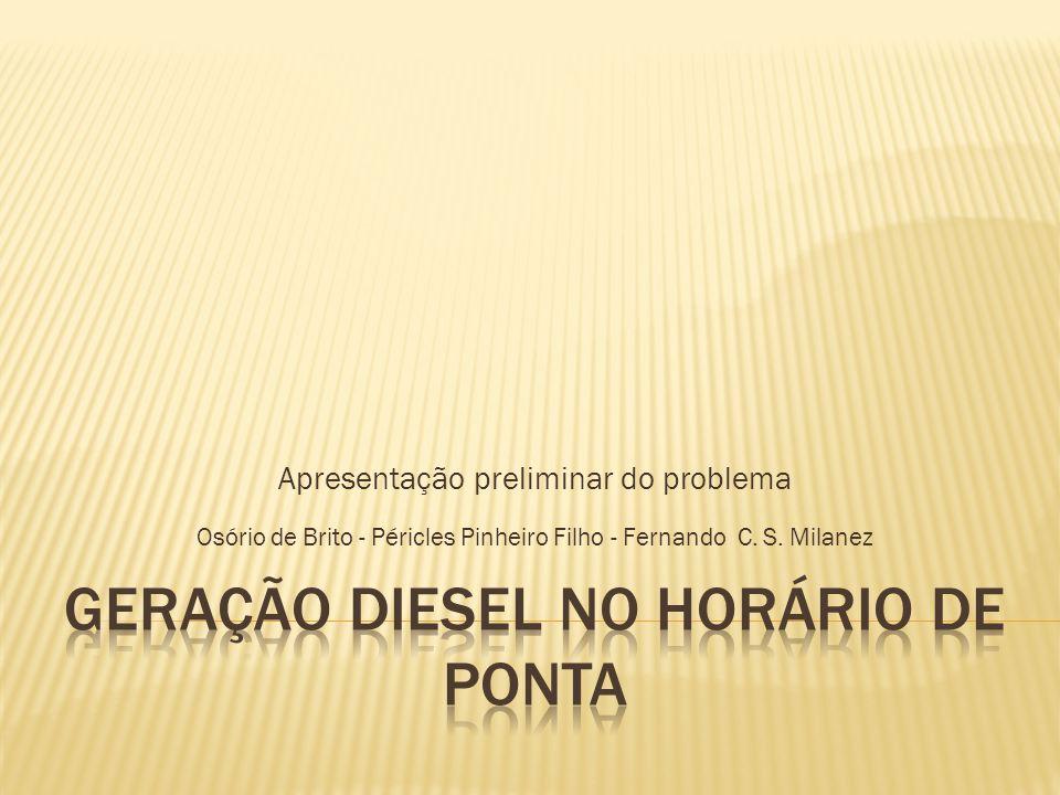 Apresentação preliminar do problema Osório de Brito - Péricles Pinheiro Filho - Fernando C.