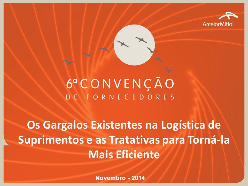 Os Gargalos Existentes na Logística de Suprimentos e as Tratativas para Torná-la Mais Eficiente Novembro - 2014