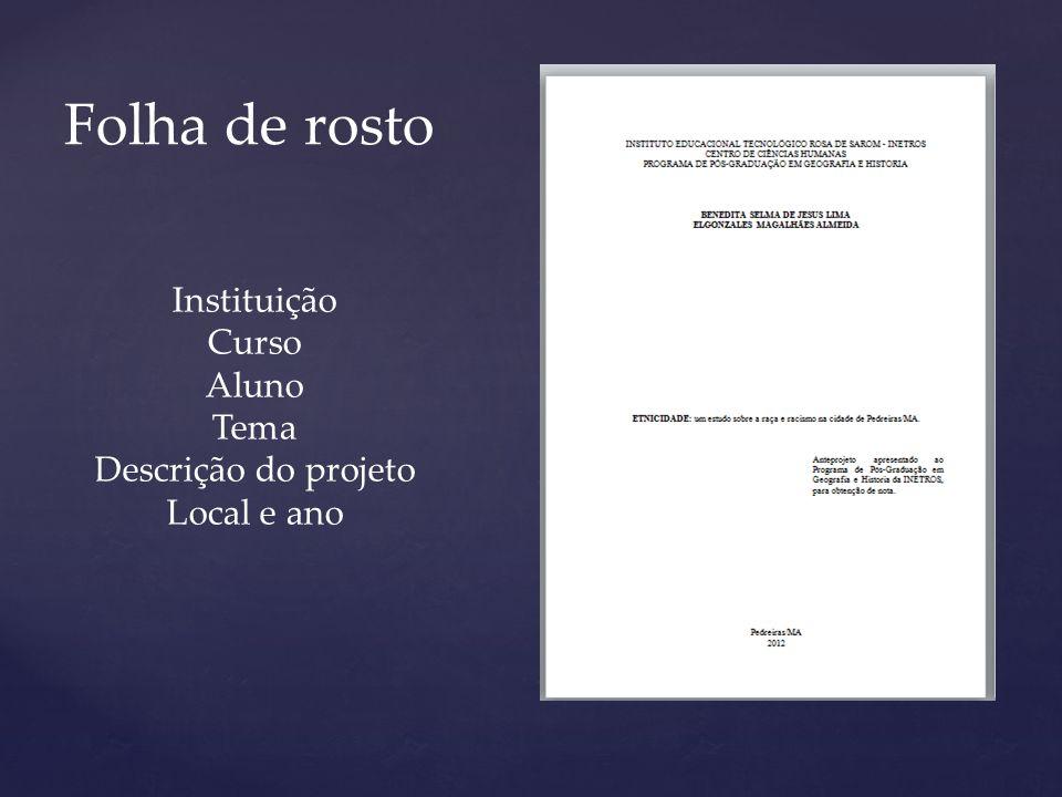 Levantamento Bibliográfico, fundamentado por citações Diretas e Indiretas. Fundamentação Teórica