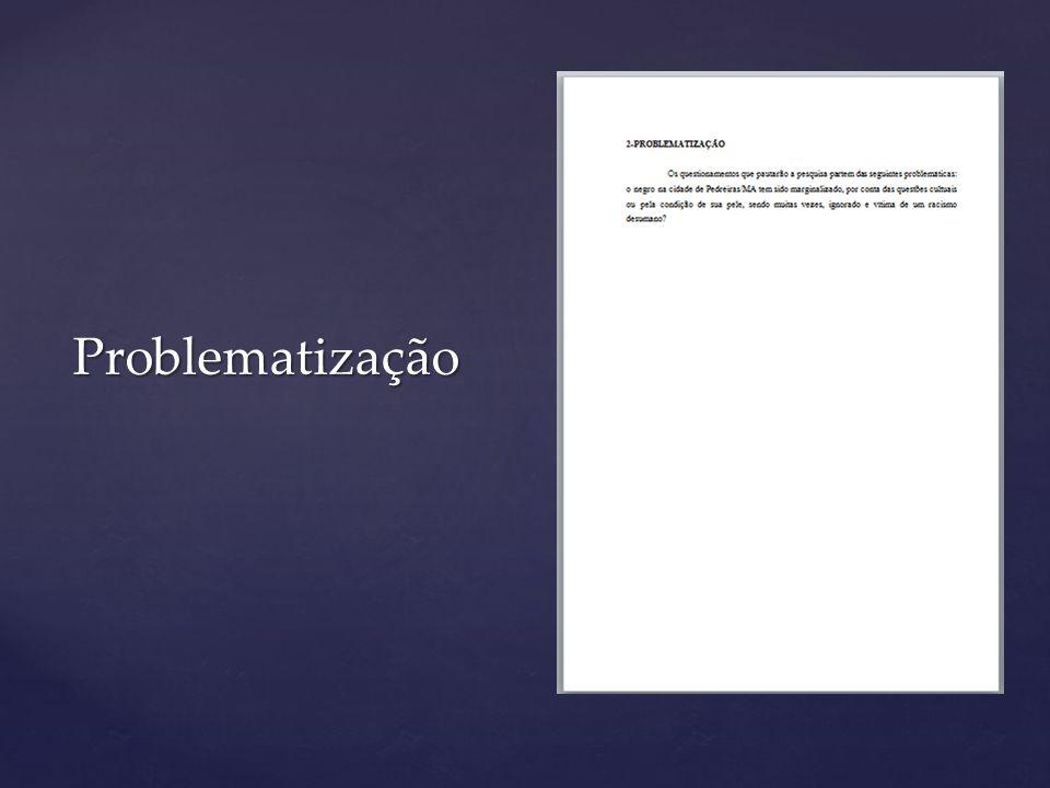As referências dos documentos consultados para a elaboração do Projeto é um item obrigatório.