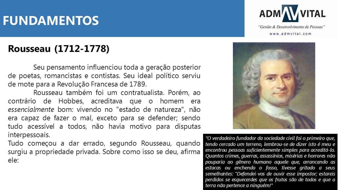 Rousseau (1712-1778) Seu pensamento influenciou toda a geração posterior de poetas, romancistas e contistas. Seu ideal político serviu de mote para a