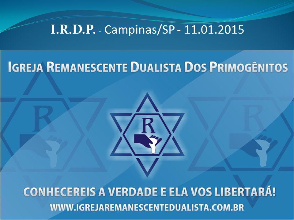 I.R.D.P. - Campinas/SP - 11.01.2015
