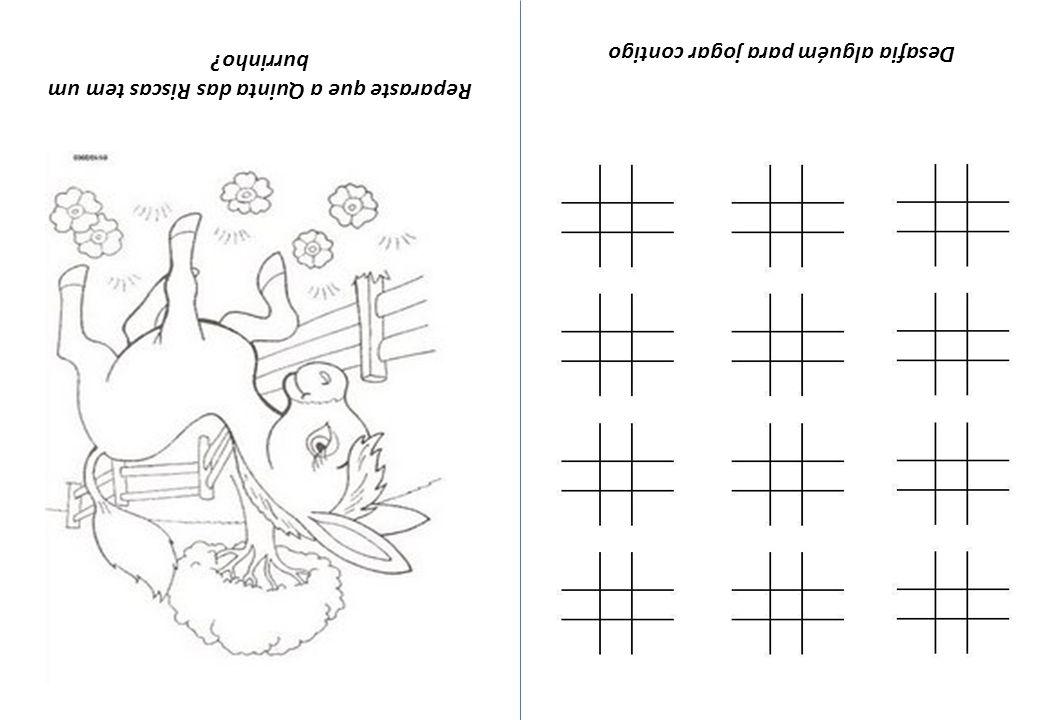 E agora.Enganaram-se 5 vezes a fazer o desenho. Quais são as diferenças.