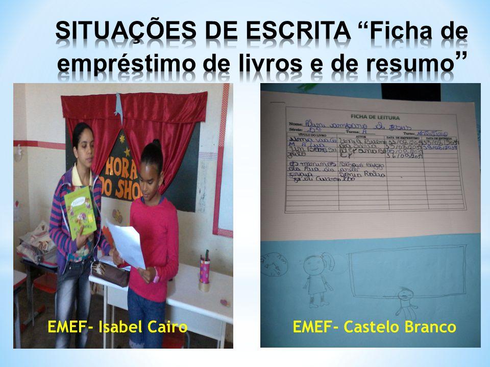 EMEF- Isabel CairoEMEF- Castelo Branco