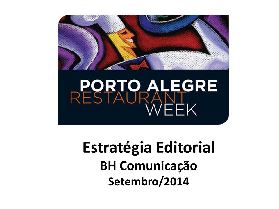 Estratégia Editorial BH Comunicação Setembro/2014